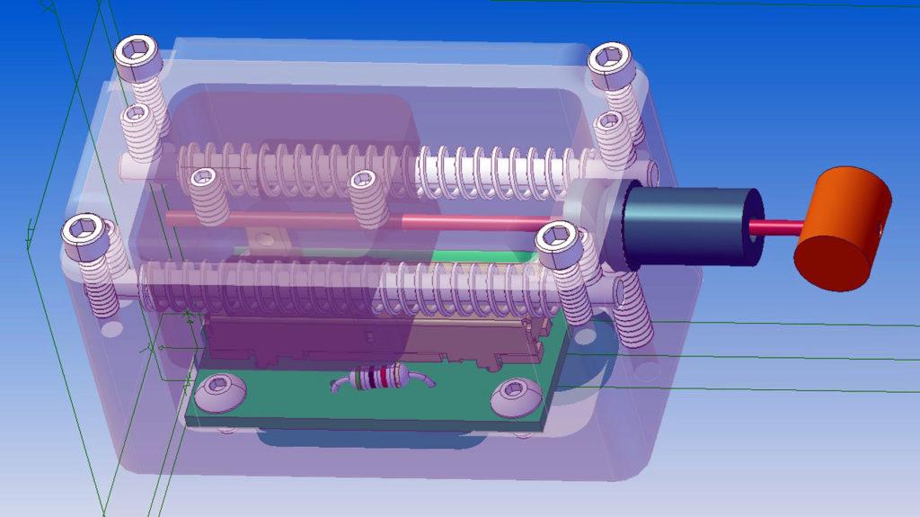 Inside workings of Sensor Box